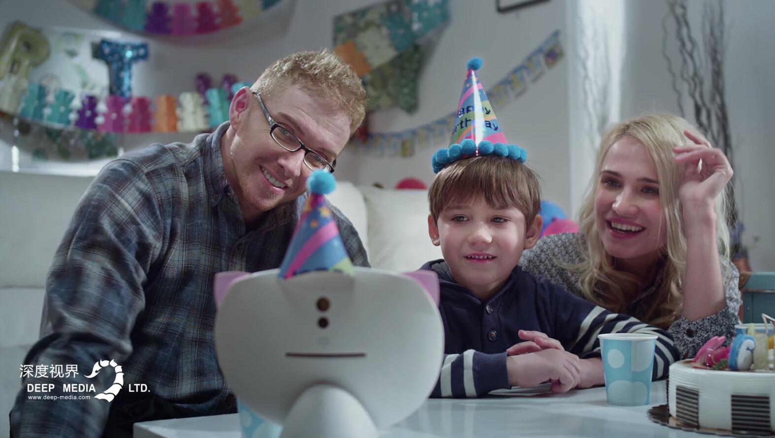 小西科技-XIBOT儿童机器人 产品宣传片