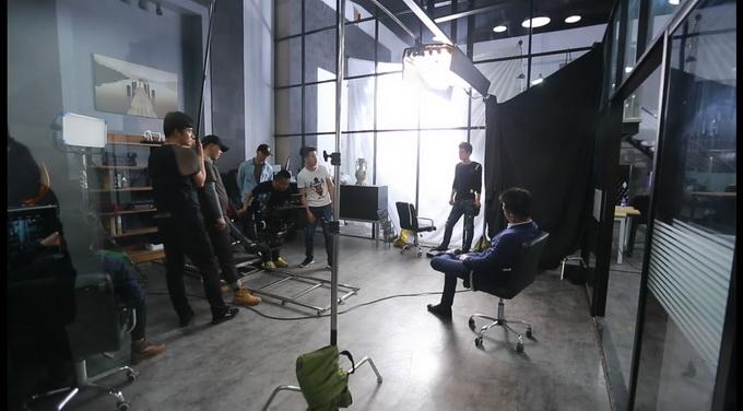 高仙机器人-创意广告拍摄花絮